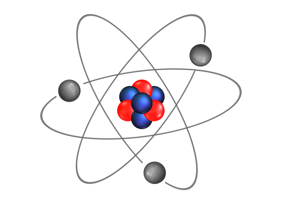 Chemical structure of atom